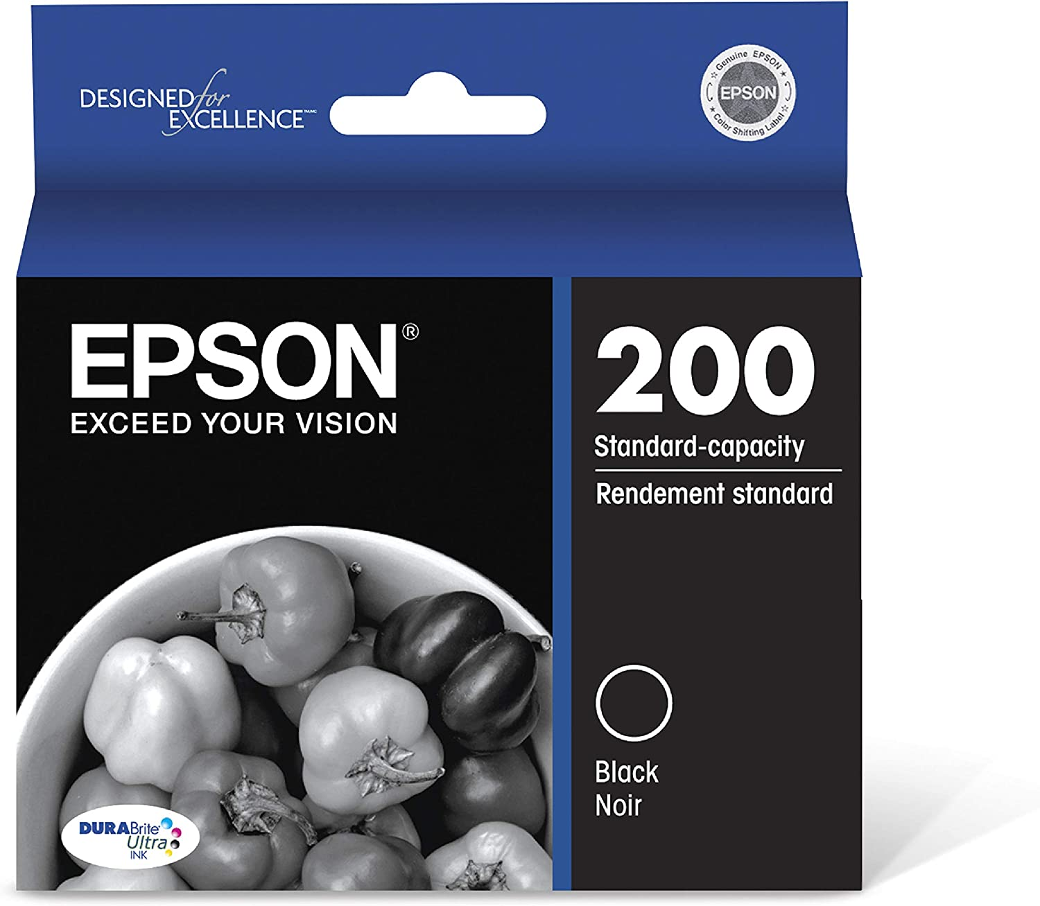 Epson T200120 DURABrite Ultra Black Standard Capacity Cartridge Ink