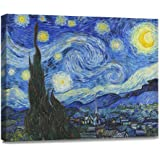 Amazon Com Starry Night Art Poster By Vincent Van Gogh