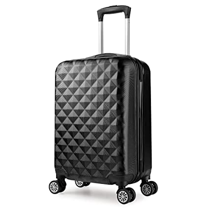 20 PC EasyJet 55cm Hard Cabin Approved Spinner Trolley Luggage Suitcase Case Bag
