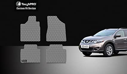 Image Unavailable. Image not available for. Color: ToughPRO Nissan Murano Floor Mats Set - All Weather ...