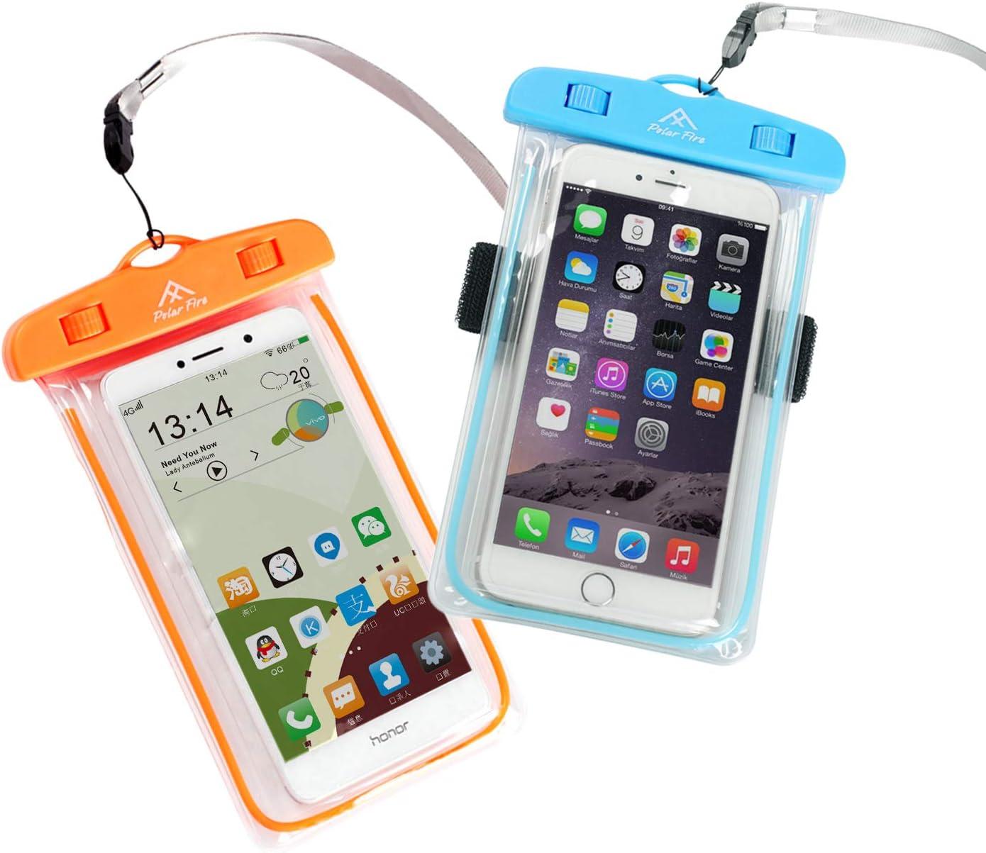 Polar Fire - Funda Impermeable para teléfono móvil con cinturón de ...