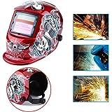 1 UNID Casco de Soldadura Pro Solar Oscurecimiento Automático Casco de Soldadura Arco Tig Mig Máscara de…