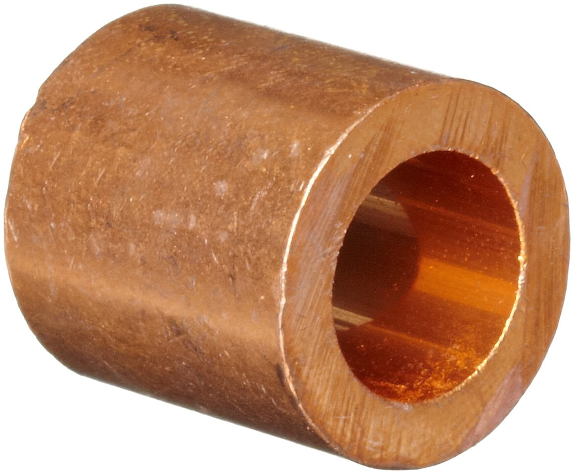 Loos Cableware ST2-12 Copper Crimping Stop Sleeve Set for 3/8'' Diameter Wire Rope (5 Piece)