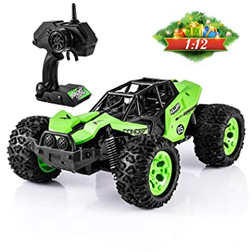 Amazon Com Rc Cars For Kids 1 12 Remote Control Car High Speed Off