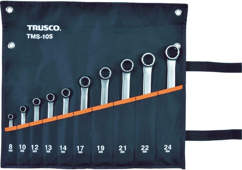 TRUSCO(トラスコ) コンビネーションスパナ(スタンダード) セット