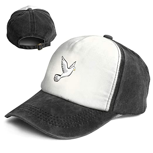 3b916329d79 Cartoon Pigeon Classic Unisex Washed Twill Cotton Baseball Cap ...
