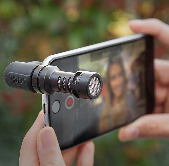 Rode VideoMic Me Micrófono para Smartphone + Auriculares Keepdrum ...