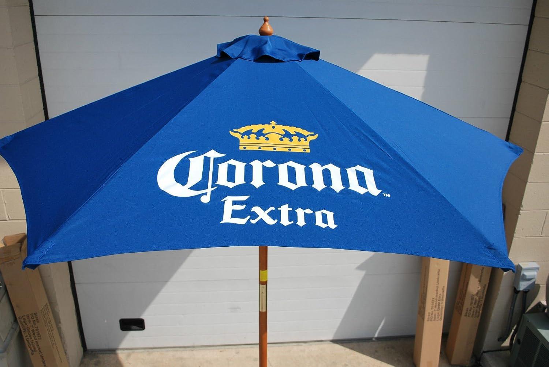Amazon Com Corona Extra Beer 7 Ft Patio Umbrella Garden Outdoor