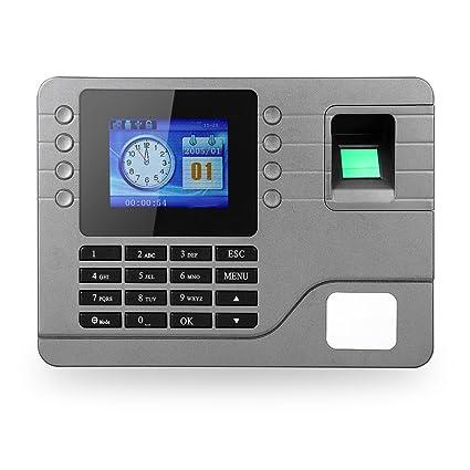 """KKmoon Digitales Biométrico Tiempo Máquina de Asistencia , 2.8"""" ..."""