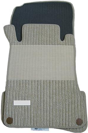 Rips Fußmatten passend für Mercedes Benz W203 S203 C-Klasse KIESEL BEIGE NEU