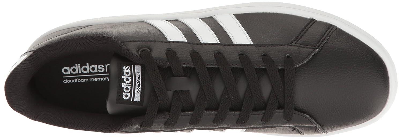 adidas Women's Cloudfoam Advantage W Fashion Sneaker B01HSIR63K 7 M US|Black/White/Black