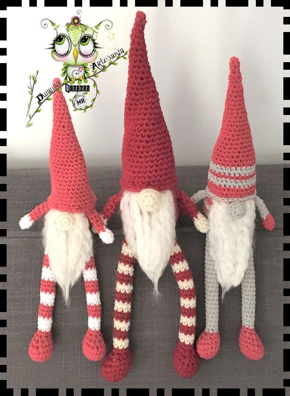 Addobbo natalizio elfo amigurumi - Video Tutorial e Schema. | 1312x960