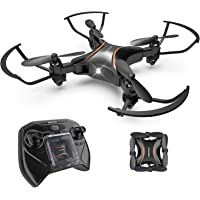 Drocon DC-65 Foldable Mini RC Drone for Kids, Portable Pocket Quadcopter with Altitude Hold Mode, 3D Flips, Headless Mode and One-key Take-off/Landing, Easy to Fly for Beginners and Makes a Great Gift