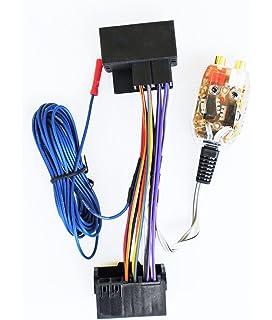 Peachy Amazon Com Factory Radio Stereo Amplifier Sub Interface Wire Wiring Digital Resources Nekoutcompassionincorg