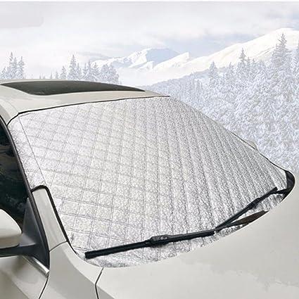 Parabrisas cubierta de nieve, Universal coche parabrisas nieve y ...