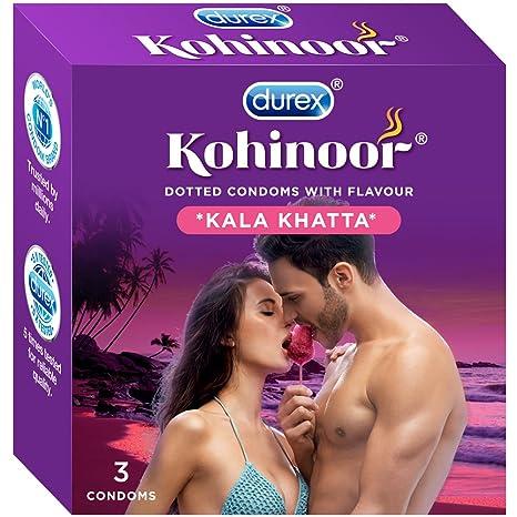 Kohinoor Condoms, Kala Khatta- 3s