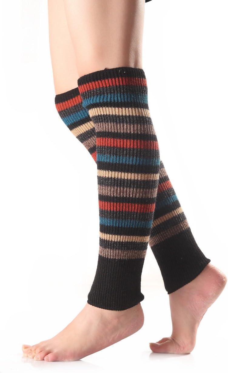 Tukistore Dame Winter Warm Lange Beinlinge Stiefel Abdeckung Socken Beinw/ärmer Stulpen Legwarmers