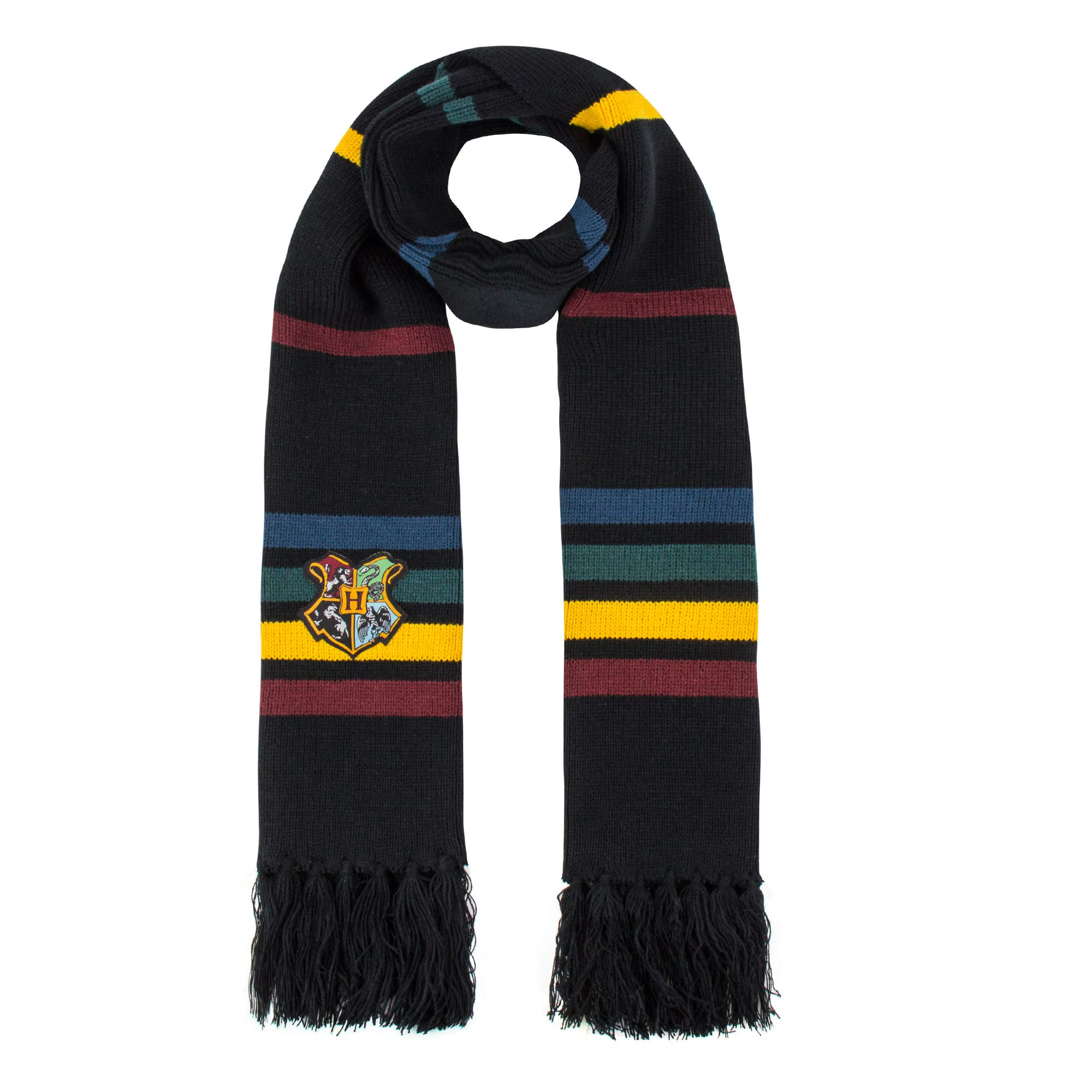 Harry Potter Scarf - Official - Ultra Soft Knitted Fabric - by Cinereplicas (Hogwarts)