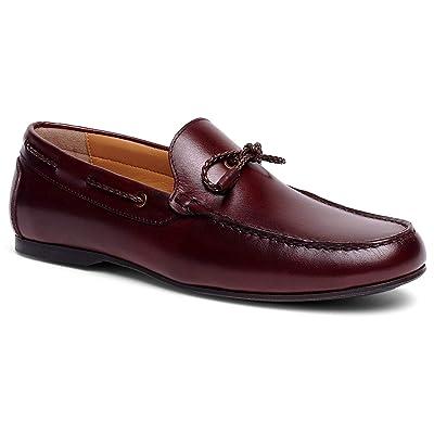 Anthony Veer Men's Franklin Slip-on Lace Moccasin Loafer Shoes | Loafers & Slip-Ons