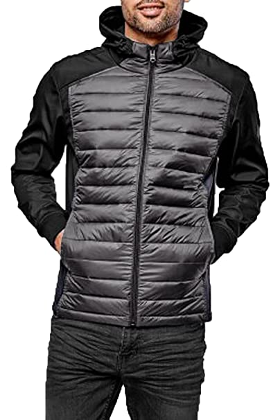 Threadbare Mens Padded Quilted Jacket Coat Warm Lightweight Winter Fashion Hippo at Amazon Mens Clothing store: