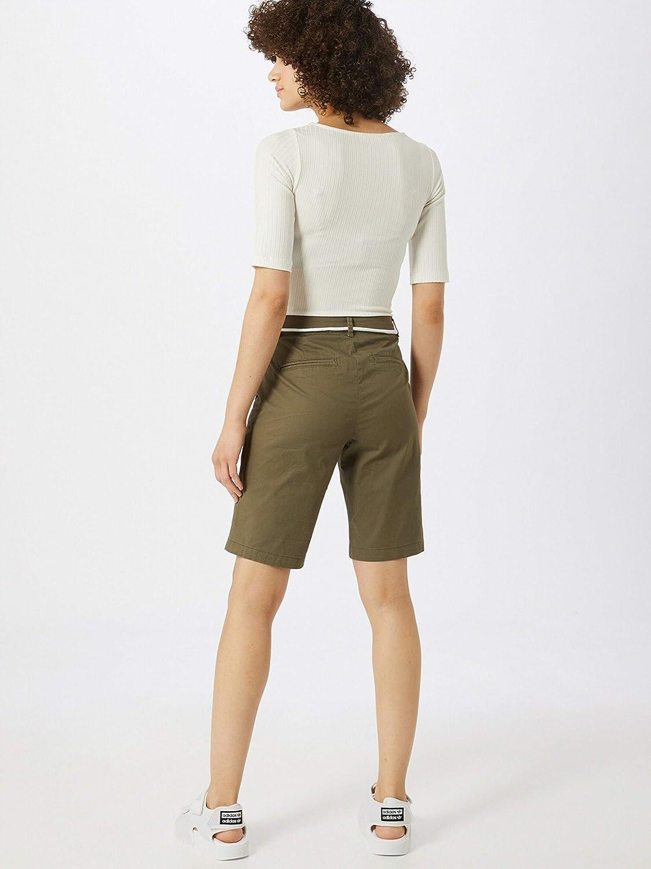 Only Onlparis Reg Long Belt Chino Shorts PNT Femme
