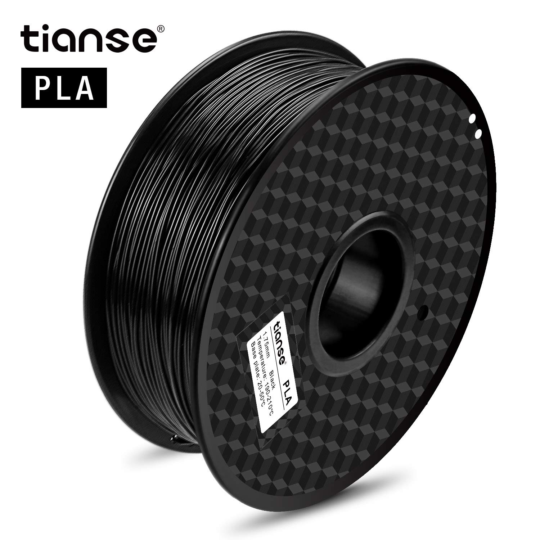 TIANSE Filamento de PLA para la impresora 3D / Pluma 3d, 1 kg 1,75 ...