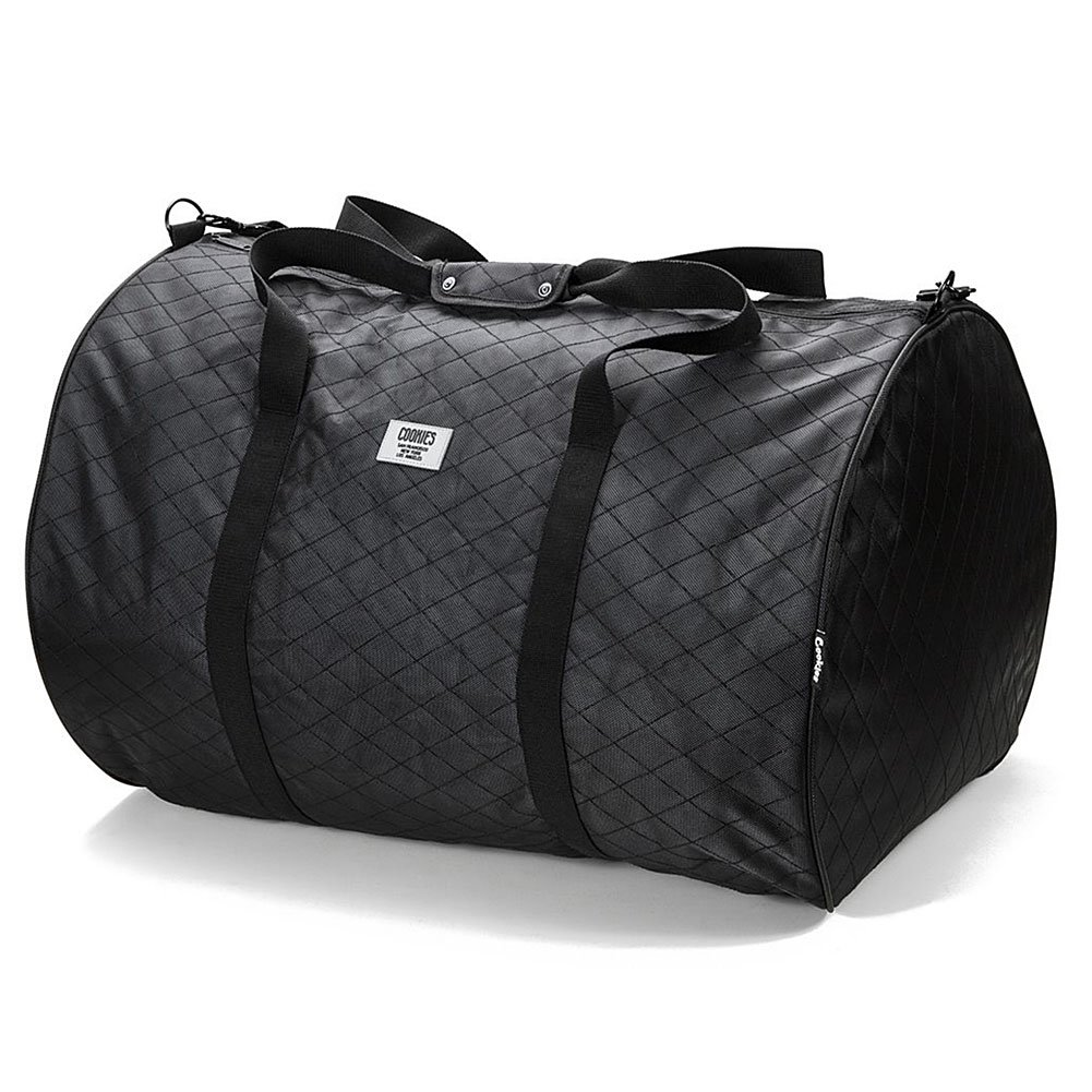 Cookies Unisex V2 1680 Quilted Nylon Smell Proof XXlarge Duffle Bag Black by Cookies