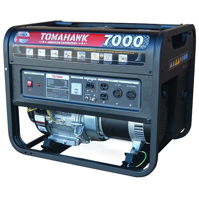 Amazon.com : Tomahawk Power 9000 Starting Watts, Gas Powered ...