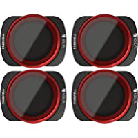 Freewell Bright Day – 4K Series – 4Pack ND8/PL, ND16/PL, ND32/PL, ND64/PL Camera Lens Filters Compatible with DJI Osmo Pocket
