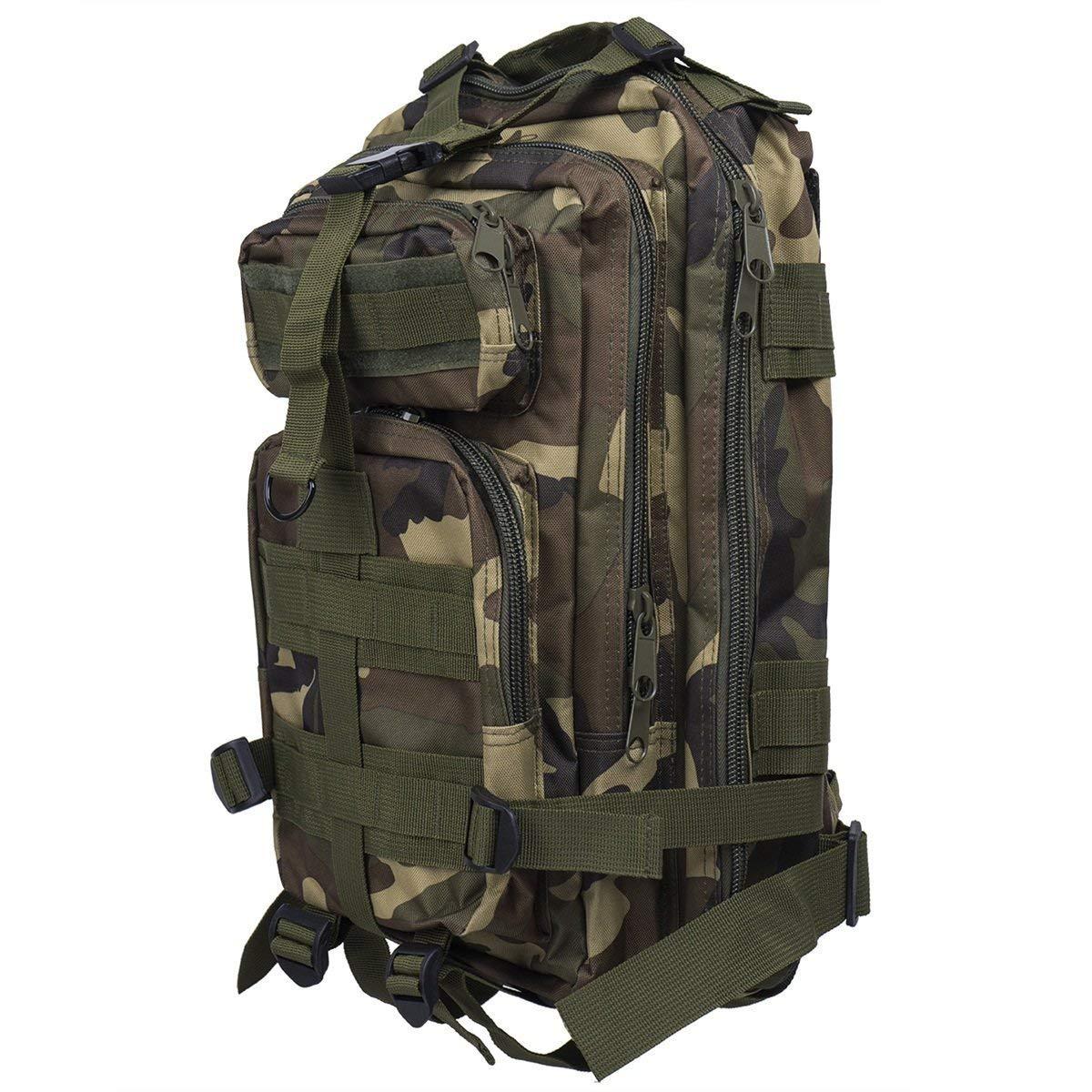 Pureed Tactical Wander Kt 30L Stylisch Rucksack Wandern Mode Trekking Military Rucksack Herren Rucksack Tasche (Farbe   Hautfarben, Größe   One Größe) B07MGX9SB8 Daypacks Am praktischsten
