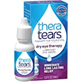 TheraTears Eye Drops for Dry Eyes, Dry Eye Therapy Lubricant Eyedrops, Provides Long Lasting Relief, 15 mL, 0.5 Fl Oz…