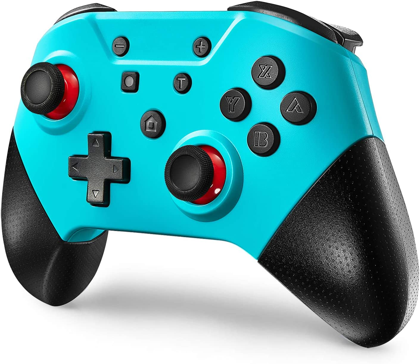 Comdigio Switch Pro Controller for Nintendo Switch and PC, Wireless Switch Controller Gamepad Joystick with NFC and Home Wake-Up Function,Support Gyro Axis, Turbo and Dual Vibration.Blue