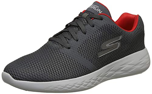 Refine Charcoal and Red Running Shoes