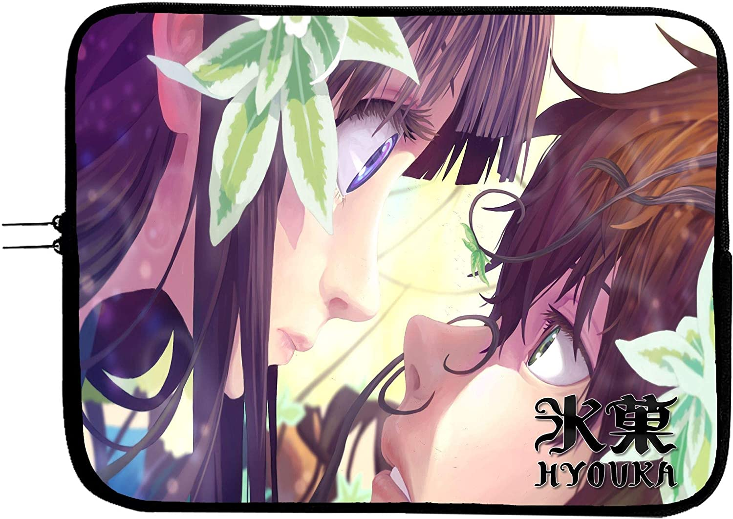 Brand3 Anime Hyouka Laptop Sleeve Bag Notebook Case 13 13.3 Anime Computer Bag Laptop//Tablet Water Repellent Neoprene Cushioned Case