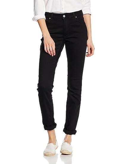 Mustang Women's Sissy Slim Jeans, Schwarz (Midnight Black 490), 26 W/