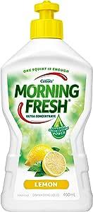 Morning Fresh Lemon Dishwashing Liquid, Lemon 400 milliliters