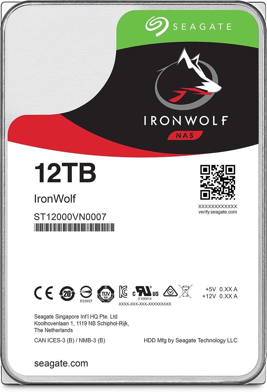 Seagate Ironwolf Nas Interne Festplatte 12 Tb Hdd 3 5 Computer Zubehör