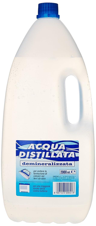 Chimiplast - Acqua Distillata, Demineralizzata - 2000 Ml