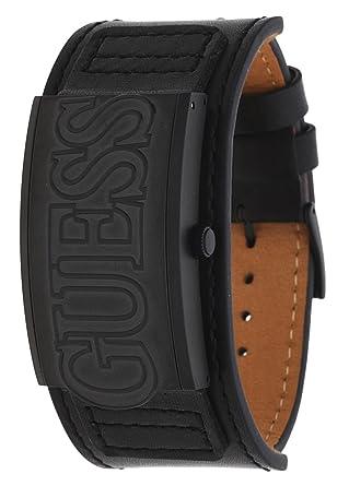 Amazon.com  Guess W0358G1 Montre Homme Convertible Black Men s Watch ... 53c2001cd00