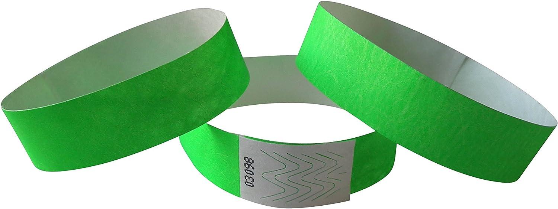 couleur de votre choix bracelets identit/é wristbands 100 bracelets /év/énementiels tyvek