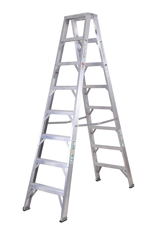 Liberti T1408 Aluminium 8 Feet Twin Step Ladder Silver Amazon In Home Improvement