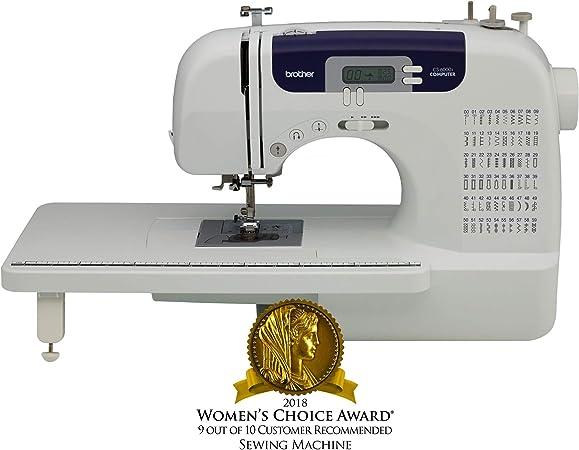 Brother CS6000i - Máquina de coser de 60 puntadas integradas, 7 ...