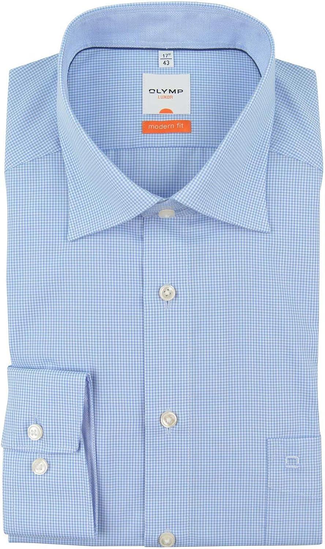 Camisa para hombre modern fit de Olympus «Luxor»: Amazon.es: Ropa y accesorios