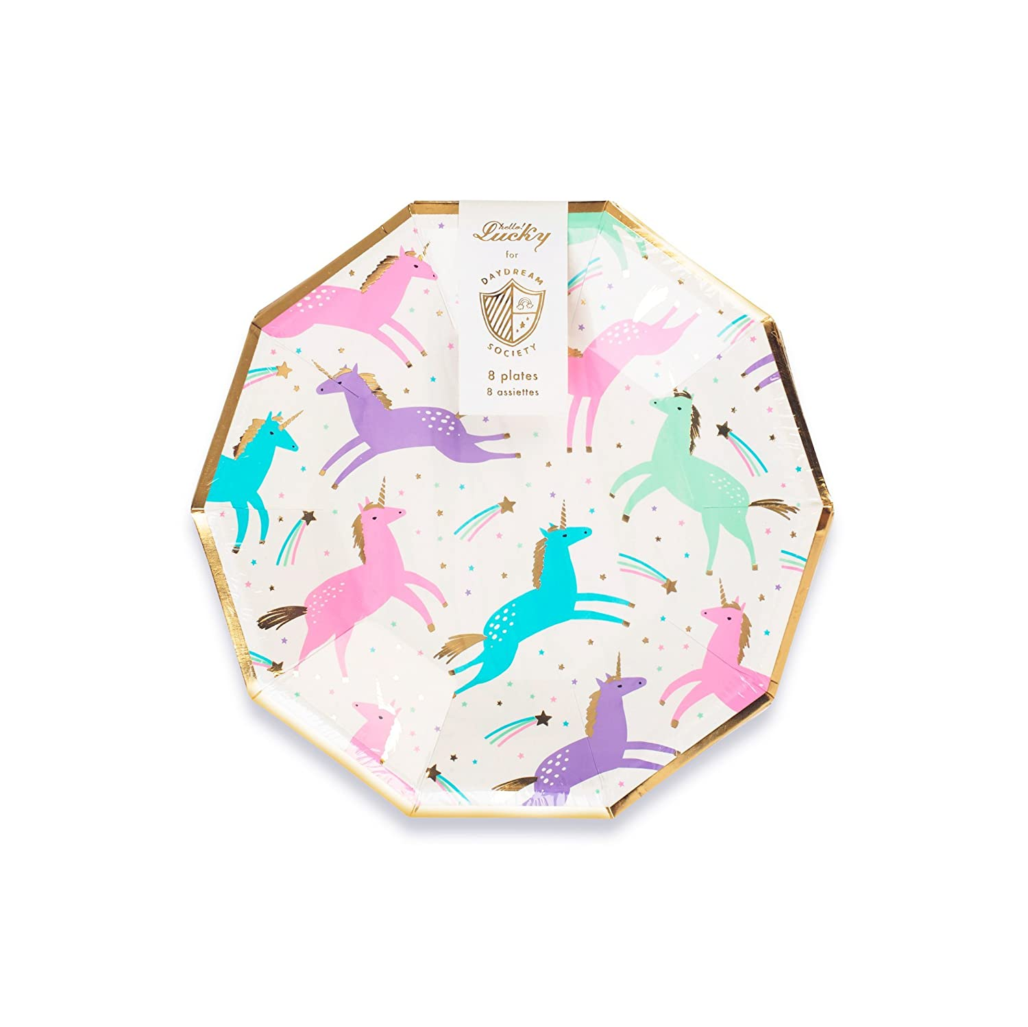 Amazon Com Daydream Society Pastel Magical Unicorn Small Paper