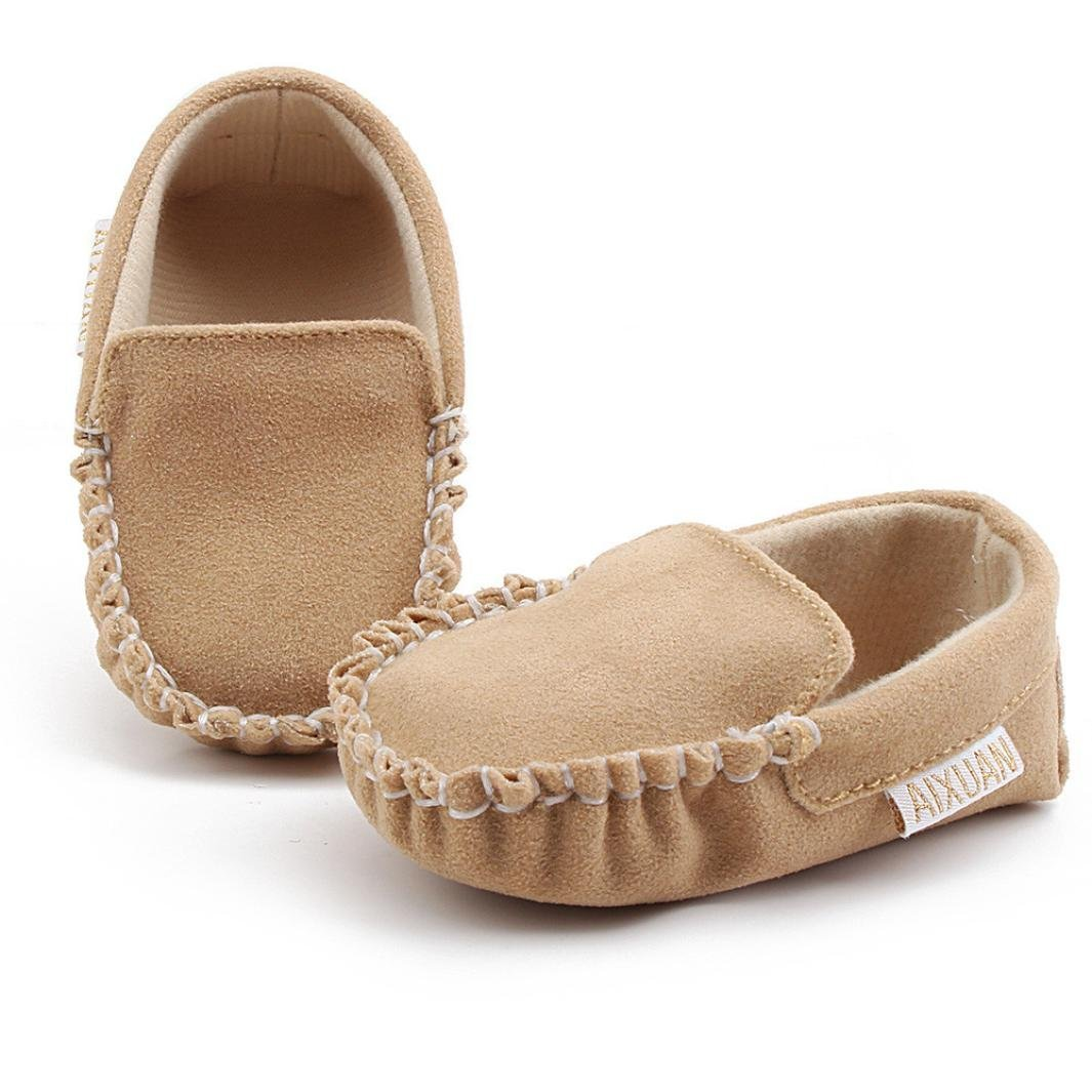 BUYEONLINE Baby Boys Girls Double Velour Soft Sole Shoe Soft Shoes Flats Shoes
