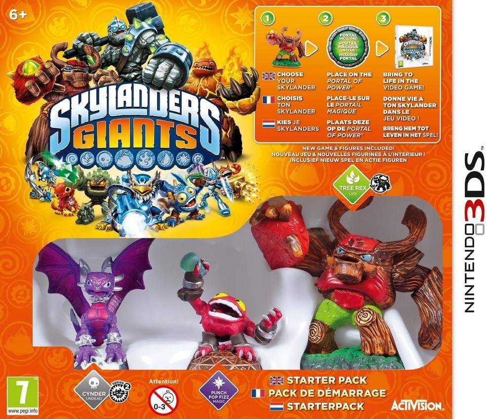 Skylanders : Giants - pack de démarrage [Importación francesa]: Amazon.es: Videojuegos