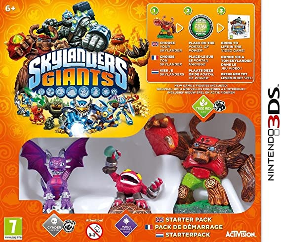 Skylanders : Giants - pack de démarrage [Importación francesa ...