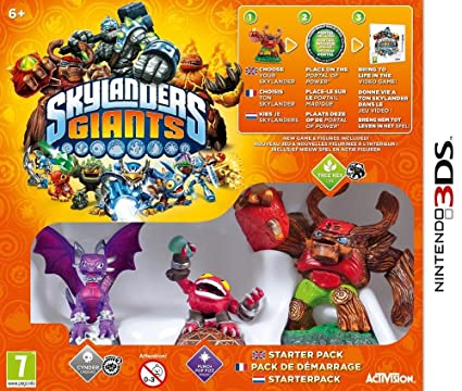 skylanders giants pack de dmarrage