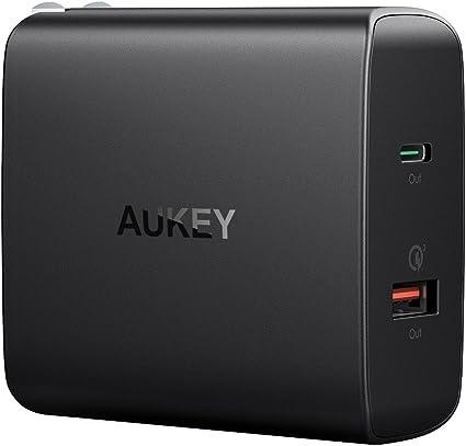 Amazon.com: Aukey Cargador USB C con 30 W de potencia de ...