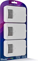 LumiLux Toilet Light Motion Detection - Pack of 3 - Advanced